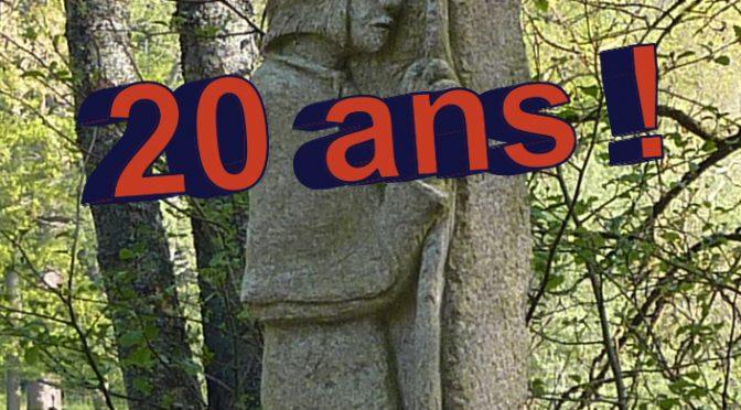 Fête des 20 ans de l'Association le 13 octobre 2018 à Montaigu!