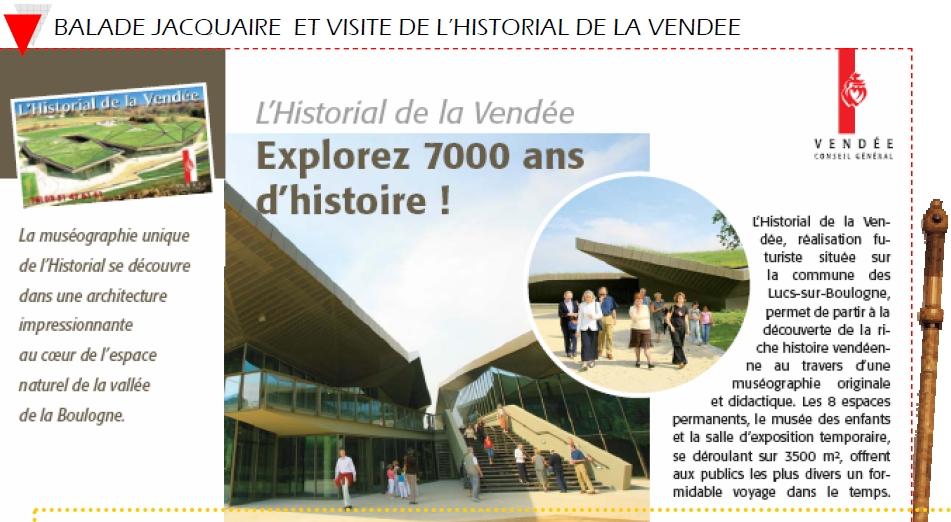image de l Historial de La Vendee et de L Association Vendeenne des Pelerins de Saint Jacques de Compostelle